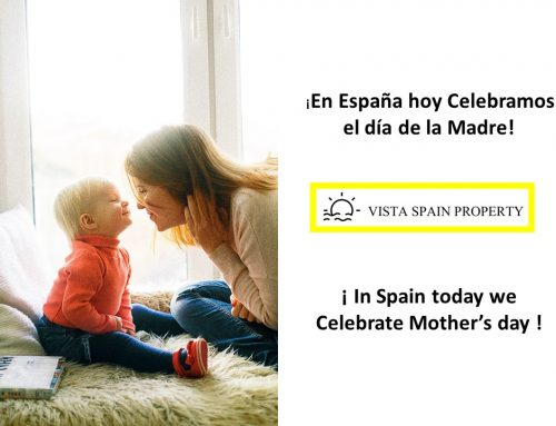 ¡In Spain today we Celebrate Mother´s day!